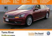 Carfax Used Cars Nj Best Of Certified Pre Owned 2016 Volkswagen Passat 1 8t Se Fwd 4dr Car