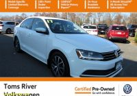 Carfax Used Cars Nj Best Of Certified Pre Owned 2017 Volkswagen Jetta 1 4t Se Fwd 4dr Car