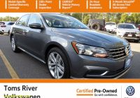 Carfax Used Cars Nj Elegant Certified Pre Owned 2019 Volkswagen Passat 2 0t Wolfsburg Edition Fwd 4dr Car