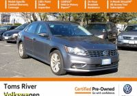 Carfax Used Cars Nj Lovely Certified Pre Owned 2019 Volkswagen Passat 2 0t Wolfsburg Edition Fwd 4dr Car