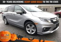 Carfax Used Cars Nyc Elegant Pre Owned 2019 Honda Odyssey Ex L 4d Passenger Van In