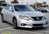 Carfax Used Cars orlando Beautiful Pre Owned 2016 Nissan Altima 2 5 Sr Fwd 4dr Car