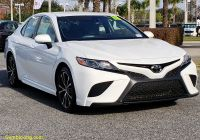 Carfax Used Cars orlando Elegant Certified Pre Owned 2018 toyota Camry Se Fwd 4dr Car