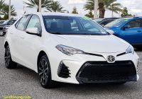 Carfax Used Cars orlando Elegant Certified Pre Owned 2018 toyota Corolla Se Fwd 4dr Car