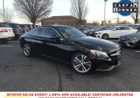 Carfax Used Cars Richmond Va Awesome Certified Pre Owned 2017 Mercedes Benz C 300 Awd 4matic