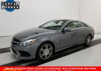 Carfax Used Cars Richmond Va Beautiful Pre Owned 2017 Mercedes Benz E 550 Sport Rear Wheel Drive Coupe
