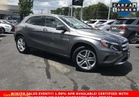 Carfax Used Cars Richmond Va New Certified Pre Owned 2016 Mercedes Benz Gla 250 Awd 4matic