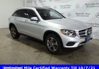Carfax Used Suv Elegant Certified Pre Owned 2017 Mercedes Benz Glc 300 4matic