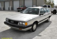 Cars for Sale 5000 Luxury 5 Speed Wagon 1985 Audi 5000 S