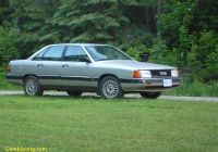 Cars for Sale 5000 New 1987 Audi 5000 Overview Cargurus