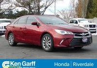 Cars for Sale by Elderly Owners Lovely Pre Owned 2016 toyota Camry 4dr Sdn V6 Auto Xle