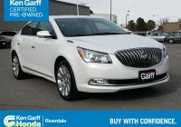 Cars for Sale by Elderly Owners Unique Ken Garff Certified 2016 Buick Lacrosse 4dr Sdn Premium I Awd