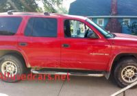 Cars for Sale by Owner 1500 or Less New Dodge Durango Xl 99 Suv In Missouri $1500 or Less by