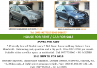Cars for Sale by Rental Unique 07 10 2016 Cars for Sale House for Rent Car for Sale