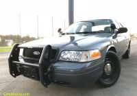Cars for Sale by the Police Luxury Details About 2008 ford Crown Victoria Police Interceptor