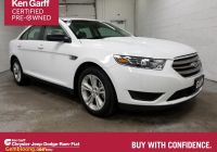 Cars for Sale Near Me Under 6500 New Pre Owned 2018 ford Taurus Se Fwd 4dr Car