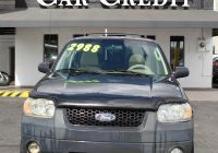 Cars for Sale Under 10000 Tampa Fl Luxury Pre Owned 2006 ford Escape Front Wheel Drive Wagon 4 Dr
