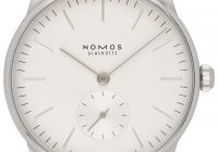 Certified Pre Owned Luxury Nomos Glashutte orion 38 Grey