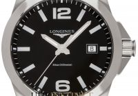 Certified Pre Owned New Longines Conquest Classic Quartz 41mm