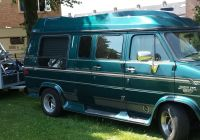 Chevrolet Minivan Beautiful Motorcycle Loaded On Trailer Behind My Chevyvan Ready for