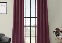 Chevy Silverado Blackout Lovely Aubergine Grommet Blackout Curtain