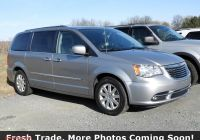 Chrysler town and Country Problems Inspirational Pre Owned 2016 Chrysler town & Country touring Fwd Mini Van Passenger