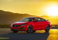 Civic Si for Sale Elegant 2020 Honda Civic Si Review Pricing and Specs