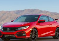 Civic Si for Sale Lovely 2020 Honda Civic Si Updated with New Features Tweaked Styling
