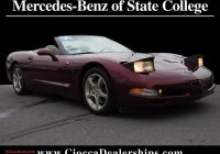 Corvette for Sale Near Me Luxury Used 2003 50th Anniversary Red Chevrolet Corvette for Sale In Quakertown