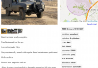 Craigslist Cars for Sale by Owner Lovely Another Smokin Deal Chevy Od 4×4 Lo Miles Military Cucv