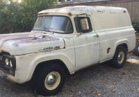 Craigslist Trucks for Sale Unique 1960 ford F100 Panel In the Process Of Bring Her Back to