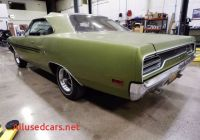 Does Graveyard Carz Have Cars for Sale Inspirational 1970 Gtx S Matching 440 6 Six Pack Road Runner Survivor