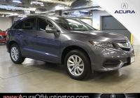 Edmunds Acura Rdx Inspirational Certified Pre Owned 2017 Acura Rdx Awd with Technology Package with Navigation