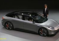 Electric Cars 2020 Beautiful sony Surprise Unveils Electric Car Vision S at Ces 2020