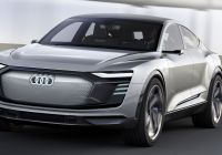 Electric Cars 2020 Elegant Audi to Deliver 3 New All Electric Cars by 2020