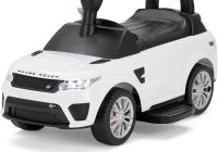 Electric Cars for 12 Year Olds Fresh Range Rover Ficially Licensed Sport Svr Kids Electric Ride Car Sit and Go 2 In 1 toy White