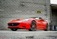"Ferrari 2015 New Ferrari California On 20"" Ferrada F8 Fr5 Wheels Italian"