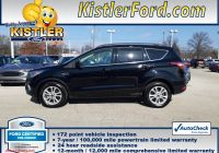 Ford Certified Pre Owned Awesome Certified Pre Owned 2017 ford Escape Se Fwd Sport Utility