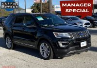 Ford Certified Pre Owned Awesome Certified Pre Owned 2017 ford Explorer Xlt Fwd Sport Utility