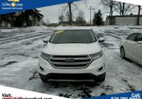 Ford Certified Pre Owned Beautiful Certified Pre Owned 2016 ford Edge Sel Awd