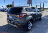 Ford Certified Pre Owned Beautiful Certified Pre Owned 2017 ford Escape Se Fwd Sport Utility