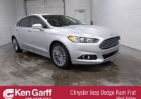 Ford Certified Pre Owned Beautiful Pre Owned 2016 ford Fusion Titanium Fwd 4dr Car