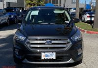 Ford Certified Pre Owned Best Of Certified Pre Owned 2017 ford Escape Se Fwd Sport Utility