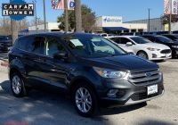 Ford Certified Pre Owned Luxury Certified Pre Owned 2017 ford Escape Se Fwd Sport Utility