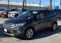 Ford Certified Pre Owned Unique Certified Pre Owned 2017 ford Escape Se Fwd Sport Utility