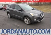 Ford Certified Pre Owned Unique Certified Pre Owned 2017 ford Escape Titanium 4wd
