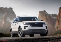 Ford Edge Sport New 2019 ford Explorer Sport Redesign Specs Price Release Date