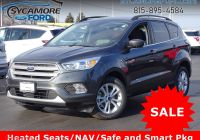 Ford Escape Wagon Lovely New 2018 ford Escape Se with Navigation & 4wd