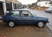 Ford Fiesta for Sale Beautiful Mk1 ford Fiesta Xr2 Project See Ebay Listing ford