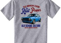 Ford Fiesta for Sale Elegant Vintage American Car ford Fiesta Mark 1 New Cotton T Shirt Coolest Shirt Tees T Shirts From Yg09tshirt $12 05 Dhgate